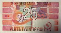 PAYS-BAS - 25 GULDEN (1989) - Billet de banque (TTB)