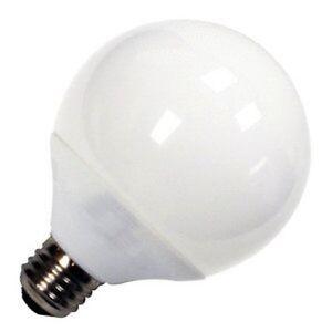 GE Globe Compact 40 Watt, 500 Lumens, Fluorescent Light Bulb - 1 or 2 Bulbs