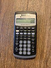Texas Instruments Ba Ii Plus Business Analyst Financial Calculator