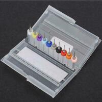 10pcs Mini Tungsten Steel Micro Drill Bits Kit for Watchmakers Repair Tools Kit