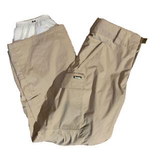 BURTON Snowboard Cargo Pants Size Small w/Adjustable Waist
