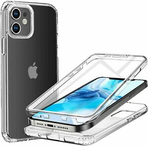 Shock Proof Hybrid Silicone Case Cover Protector For Apple iPhone 12 11 8 7 6S