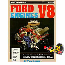 FORD 302 351 CLEVELAND 429 460 BOOK HOW TO REBUILD FORD V8 ENGINES HP36
