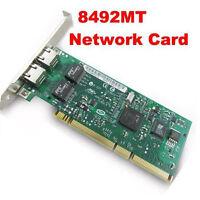 Intel 8492MT PRO/1000MT Dual Port Server PCI Interface Adapter Network Card RJ45