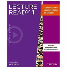 Lecture Ready Student Book 1, Second Edition (Lecture Ready Second Edition 1), S