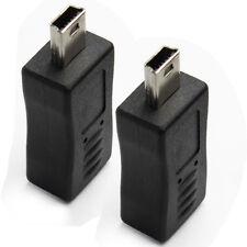 MICRO B FEMALE TO MINI USB MALE ADAPTER [Electronics], 2 Packs