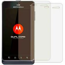 6 Pcs Ultra Clear LCD Screen Protector Guard Cover For Motorola Droid 3 XT862