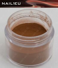 "PROFI Farb-Acryl Acryl-Pulver ""NAIL1EU Braun"" 7g/ Acrylpuder, Powder"