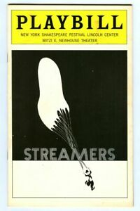 Vintage 1976 STREAMERS at Lincoln Center Mitzi E. Newhouse Theatre Playbill!