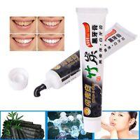 100ML Schwarze Bambus Kohle Whitening Zahnpasta Fluorfrei Aktivkohle für Ruachen