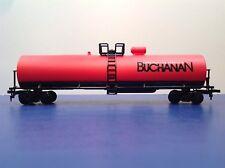 "HO Scale ""Buchanan Construction Products"" Single Dome Tanker Train / Mehano"