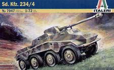 Maqueta del blindado cazacarros alemán Sd.Kfz. 234/4 de ITALERI a 1/72