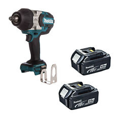 MAKITA 18V LXT DTW1002 DTW1002Z DTW1002RFE IMPACT WRENCH AND 2 BL1840 BATTERIES