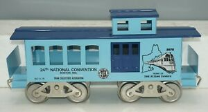 MCCOY STANDARD GAUGE 1978 TCA 24TH TRAIN COLLECTORS BOSTON CONVENTION CABOOSE