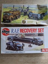 AIRFIX OO SCALE RAF RECOVERY SET & REFUELLING SET UNUSED MODEL KITS x 2.