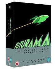 FUTURAMA 1-8 COMPLETE SEASON 1 2 3 4 5 6 7 8 DVD BOX ENGLISCH
