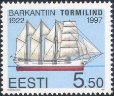 Estonia 1997 Baltic Sailing Ships/Nautical/Boats/Transport/History 1v (ee1175)