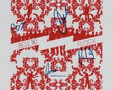 """Bell X1 band REAL hand SIGNED 8x10"""" Photo #1 COA by 4 members Autographed"""