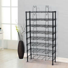 8-Tier Adjustable Media Storage Rack Unit 432 CD/228 DVD/120 VHS Media Rack