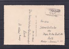 Bahnhofkastenstempel Schwanenstadt gelaufen auf Feldpost Karte 30.VII.1940