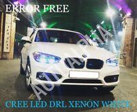 BMW F20 F21 LED XENON COOL WHITE DAYTIME RUNNING LIGHT DRL BULBS UPGRADE 6000k