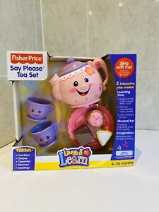 Fisher Price Say Please Tea Set Laugh And Learn NEW