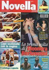 Novella 2008 32.ELEONORA BERLUSCONI,ZAC EFRON-VANESSA HUDGENS,BRITNEY SPEARS