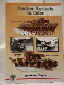 Panther Variants In Color Vol 1 by Waldemar Trojca JJ Fedorowicz Softback NEW