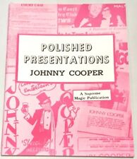 Polished Presentations Book Cooper Stage Close Up Magic Tricks Kid Show Comedy