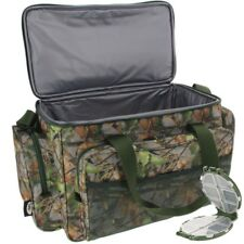 Fishing Carryall CAMO Insulated Tackle Bag NGT Holdall Carp WITH TACKLE BOX