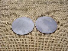 "Mild Steel Disc Circle 60mm dia x 2mm(5/64"") Pk of 2 - Laser Cut"
