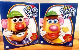 Hasbro MR. And MRS. POTATO HEAD 11 piece set  Brand New in Box!! Discontinued