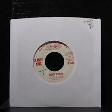 """Claude King - Tiger Woman / When You Gotta Go 7"""" VG+ Promo Vinyl 45 4-43298"""