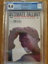 Ultimate Fallout #4 CGC 9.4 2nd print Pichelli variant Spider-Man/Miles Morales