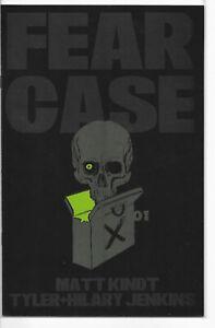 Fear Case #1 A Tyler Jenkins Cover 1st Print NM/NM+ Dark Horse 2021