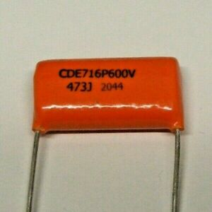 Folienkondensator Orange Drop 47000pF 47nF  200VAC  400VDC 5/%  RM17,5 #BP 4 pcs