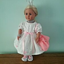 Pretty sparkly dress and accesories to fit OG AG DOLL free p&p