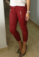 "Isabel Marant H&M Red Waxed Trouser Pants 8 US / 38 EUR (32"" Waist)"
