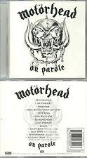 CD - MOTORHEAD : ON PAROLE / HARD ROCK HEAVY METAL ( COMME NEUF - LIKE NEW )