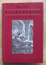 Julius Wolff Raubgraf Geschichte Harzgau Quedlinburg Mittelalter Halberstadt