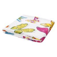 Tessuto Farfalle Colorate Cotone Taglio 280x280 cm Cuscini Tovaglie Arredo Casa