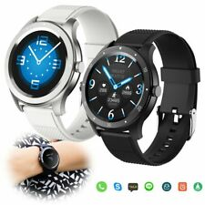 Bluetooth Smart Watch Heart Rate Blood Pressure Wristwatch for Samsung Note 10 9