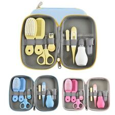 8Pcs/Set Baby Health Care Kit Portable Newborn Baby Grooming Kit Nail Clipper