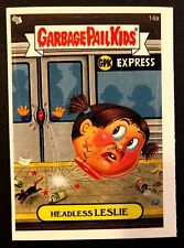 Topps Garbage Pail Kids 2005 GPK ANS 4 #14a Headless LESLIE NrMint-Mint