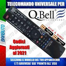 TELECOMANDO UNIVERSALE QBELL; CLICCA SUL TUO MODELLO E LO RICEVERAI GIA PRONTO
