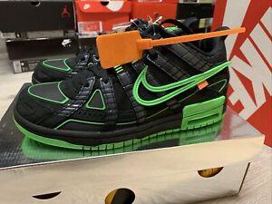 Nike Air Rubber Dunk X Off White Sz 9m