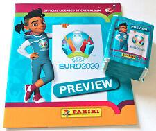 Panini EM EURO 2020 PREVIEW - 50 TÜTEN PACKETS ED. EUROPA + ALBUM 250 STICKER