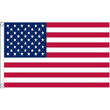 Usa Large Flag 8Ft X 5Ft Americ American Stars & Stripes Banner With 2 Eyelets
