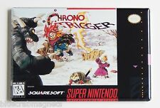 Chrono Trigger FRIDGE MAGNET (2 x 3 inches) video game box snes