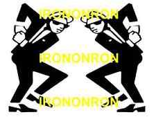 SKA MEN DANCING IRON ON TRANSFER 11x8  SKA MUSIC SKA MODS A4 T SHIRT TRANSFER